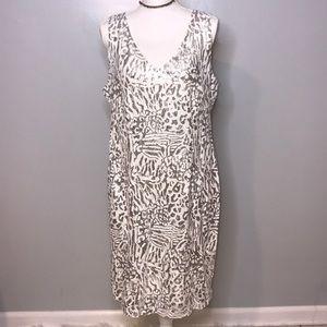 NWOT Sequins Sleeveless Midi Dress
